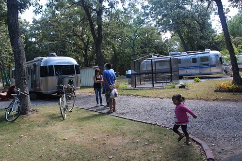 Day 38: Chillaxing at the Minnesota Airstream Park.