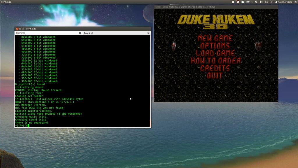 Compilando O Duke Nukem 3d Para Linux Alan C Assis