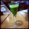 Juice detox, Morning wheatgrass shot it tasted like grass juice…