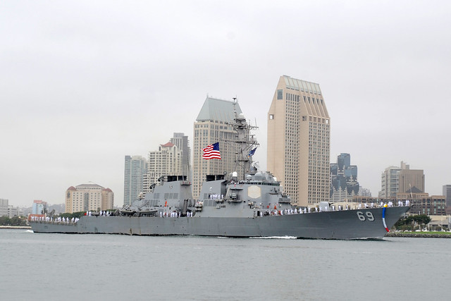 USS Milius Returns From Deployment