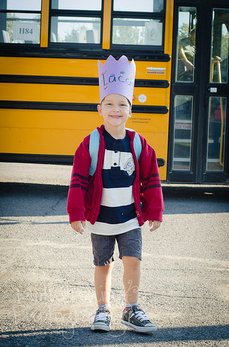 Lucas First day of school