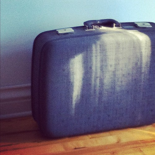 vintage suitcase Montreal