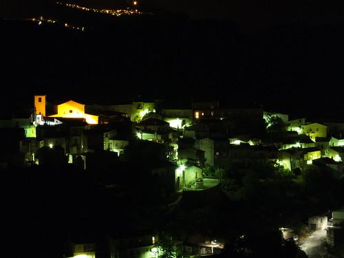 foto verzino di notte