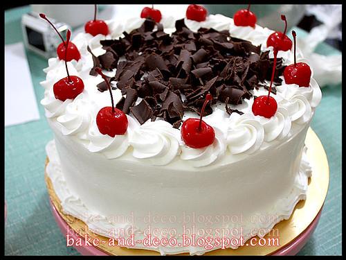 Class: Blackforest Cake