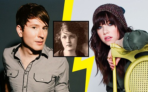 Carly Rae, Owl City and Zelda Fitzgerald