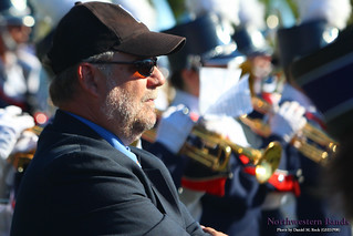 Dr. Dave Fodor (GMu98) Directs the Evanston Township High School Marching Band