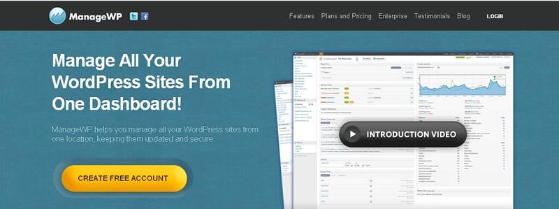 Quản lý nhiều blog WordPress cùng một lúc đơn giản với ManageWP 213