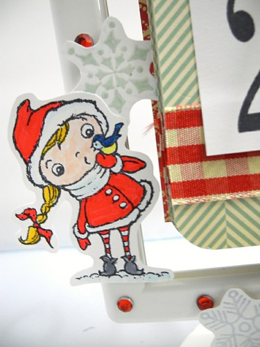 Stampendous Countdown Calendar (detail)