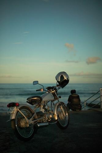 bike & man