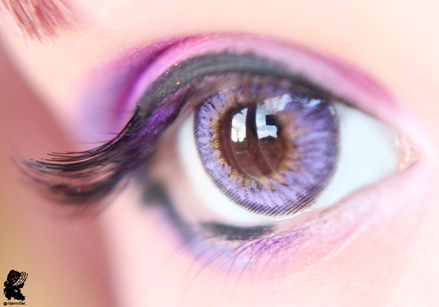 review-Barbie - Puffy 3 tones Violet11
