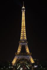 Tour Eiffel at Midnight with Twinkling Effect | 120915-0651-jikatu