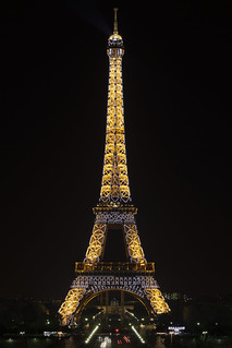 Tour Eiffel at Midnight with Twinkling Effect | 120915-0651-jikatu