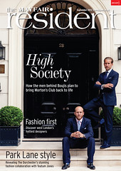 Mayfair Resident Cover - Carlo and Jake