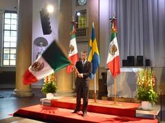Conmemoración del 202 Aniversario del Inicio de la Independencia de México en Suecia