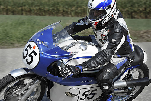Norton motorcycle Karl Zach Schwanenstadt GP Austria 4-facher Vizestaatsmeister und Staatsmeister 1979 auf Yamaha 750 Copyright 2012 B. Egger :: eu-moto images 0138