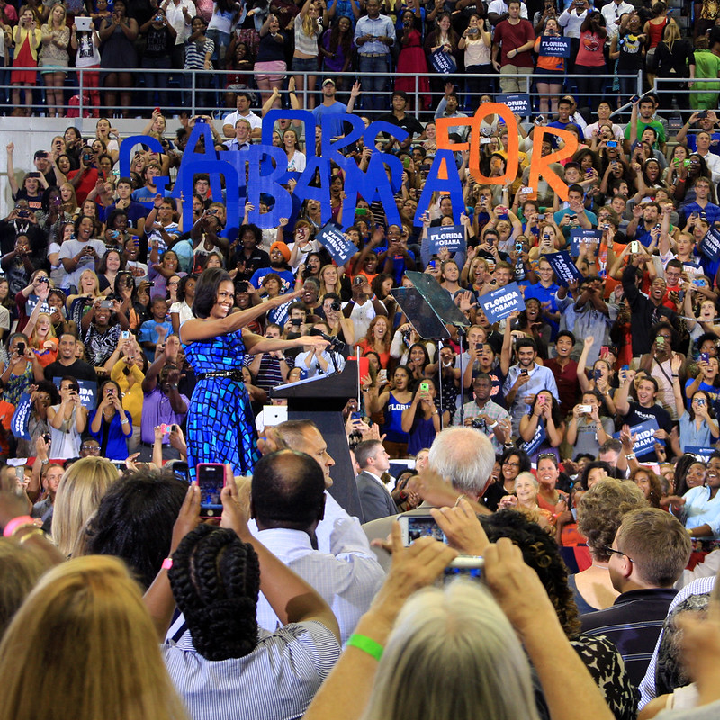 Michelle Obama at the University of Florida
