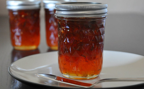 Hot inferno pepper jelly