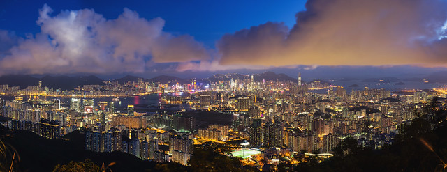 Peaks of Hong Kong - Kowloon Peak