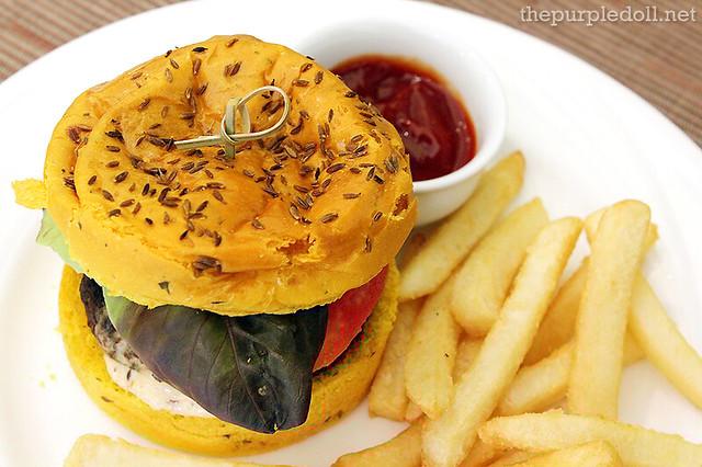 Lamb Burger P490
