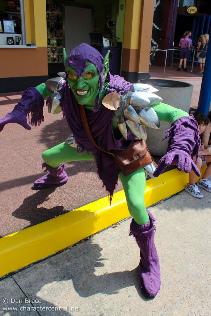 Green Disney Characters Green Goblin at...