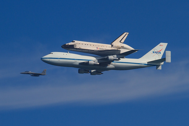 space shuttle carrier 747 american airlines - photo #19