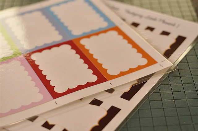 Reuseable place cards