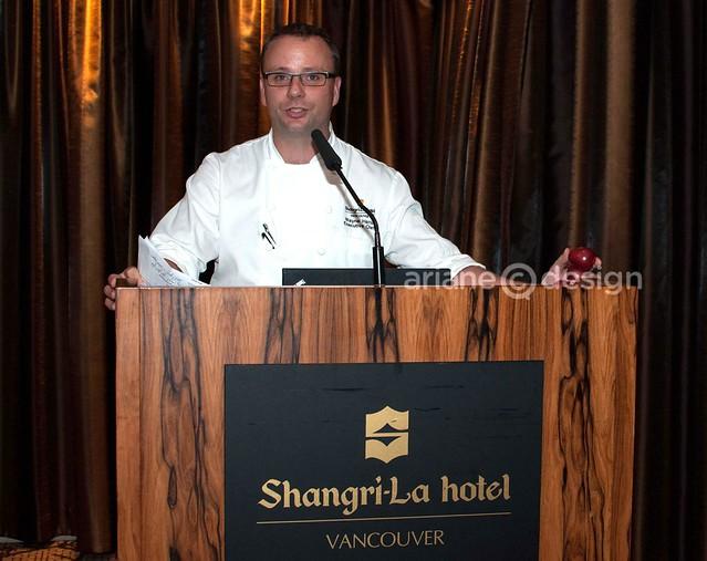 Shangri-La Hotel Vancouver Executive Chef Wayne Harris