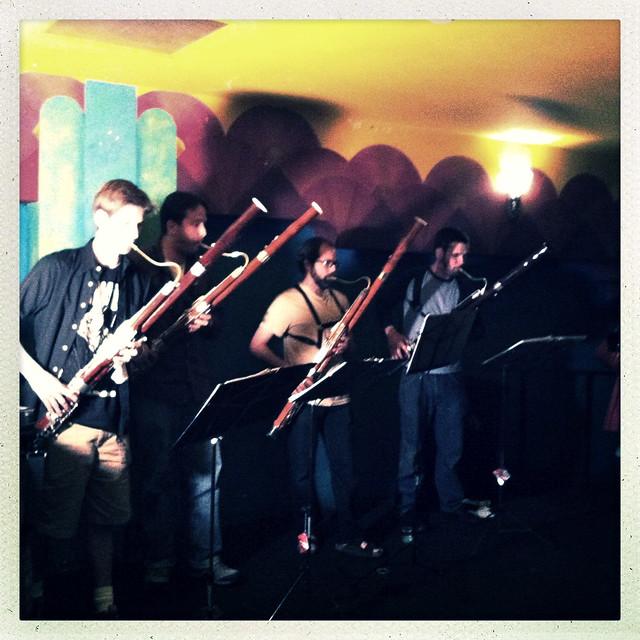 Boulder Bassoon Quartet - Amanda Palmer Show
