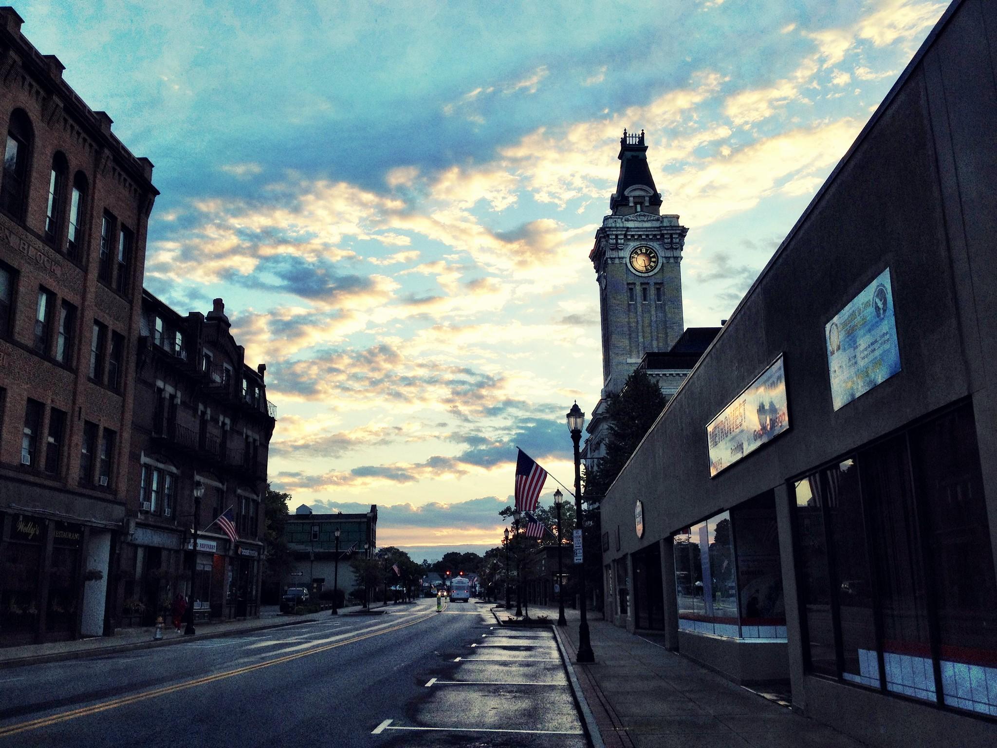sunrise on main street