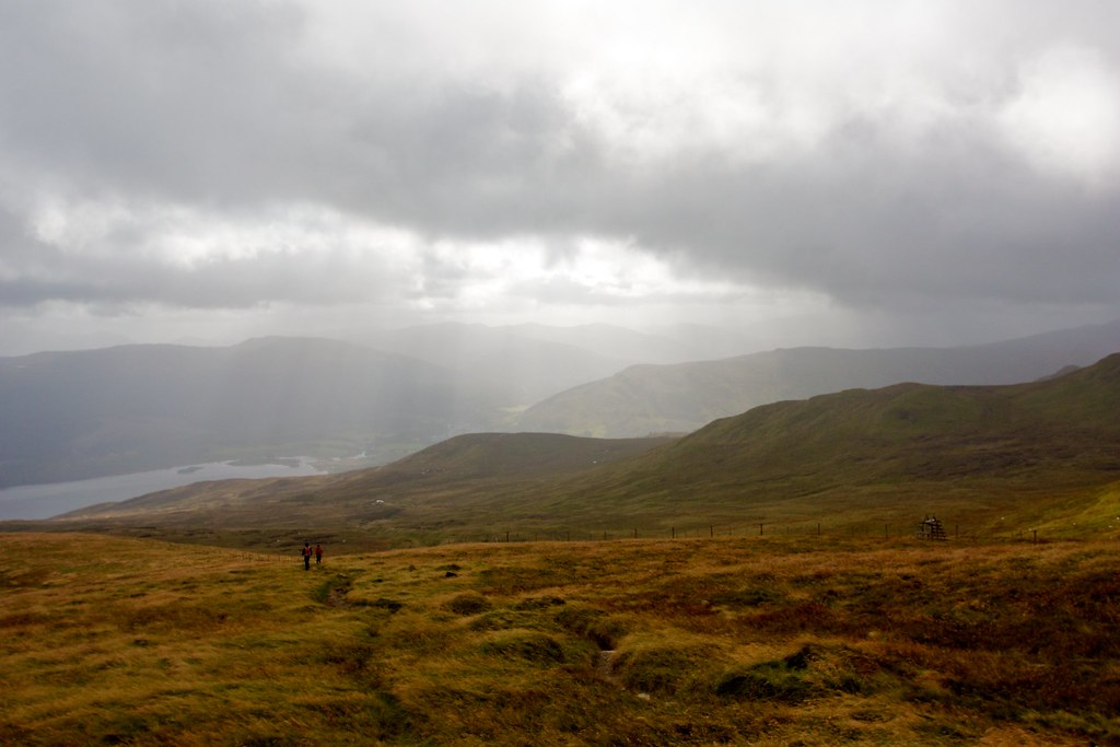 Light over Glen Lochay
