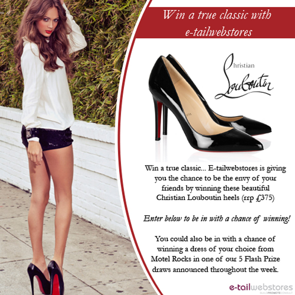 wholesale dealer 3e0fc 14bd2 sparklyvodka: Win A Pair Of Christian Louboutin Shoes!