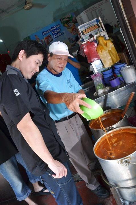 3 chef Michael Han and Penang Laksa
