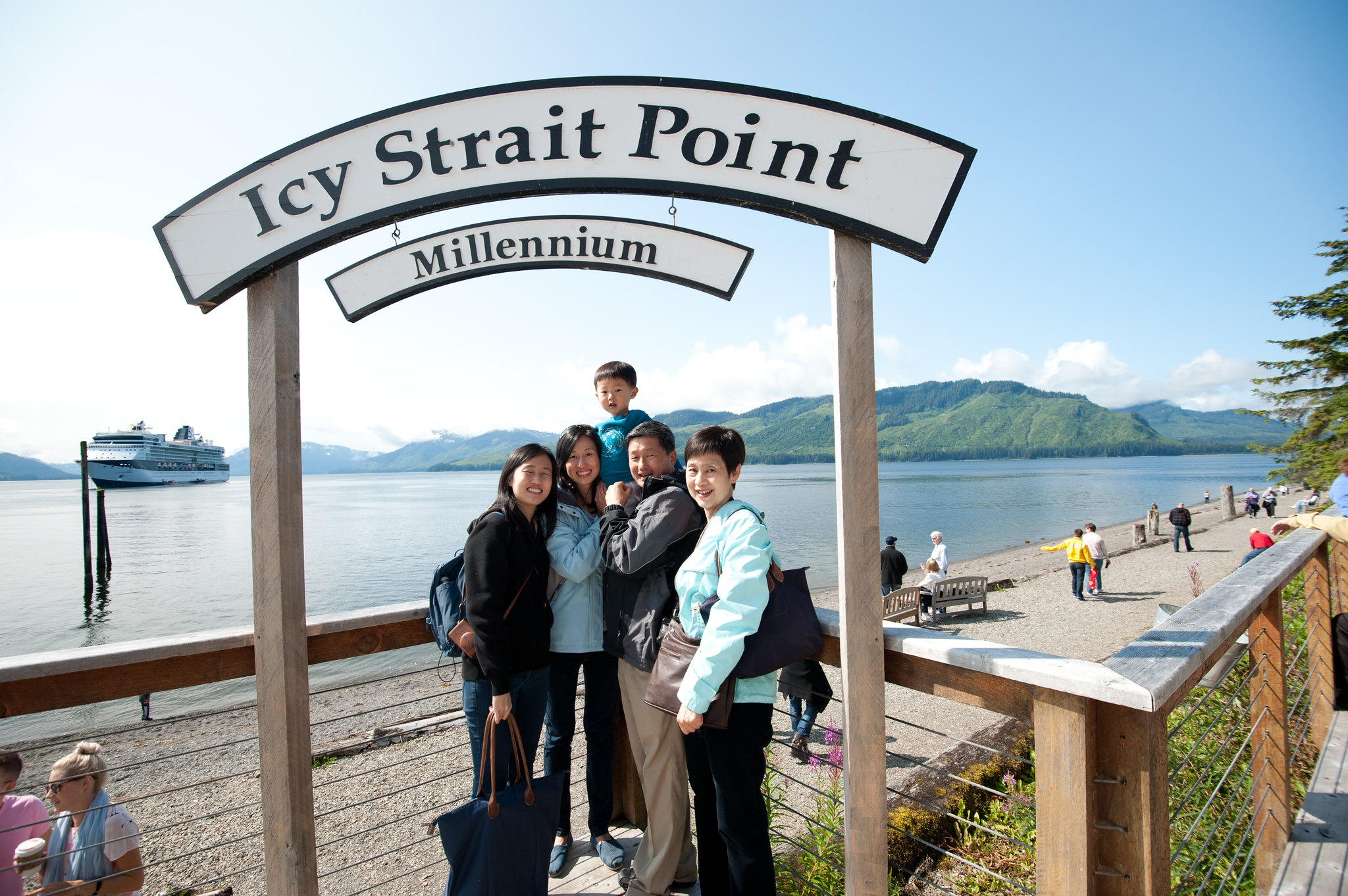Icy Strait Point Alaska Map.Faded Maps Port Of Call 2 Icy Straits Point