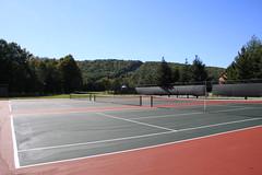 sport venue, tennis court, tennis, sports,