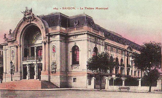 SAIGON - LE THEATRE MUNICIPAL