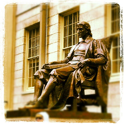 John Harvard says relax, just do it