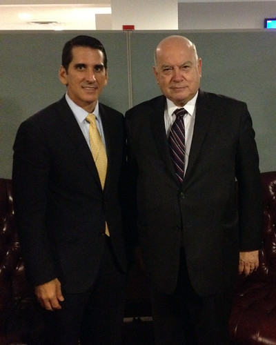 OAS Secretary General Meets with Foreign Minister of Panama