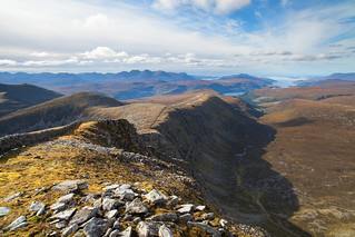 Beinn Dearg - with views over Ullapool and Assynt