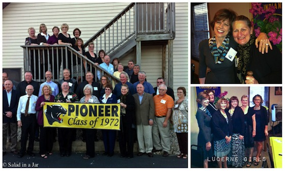 PHS 40th reunion collage