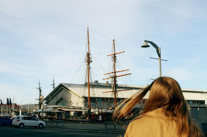 bonnie hobart tall ship
