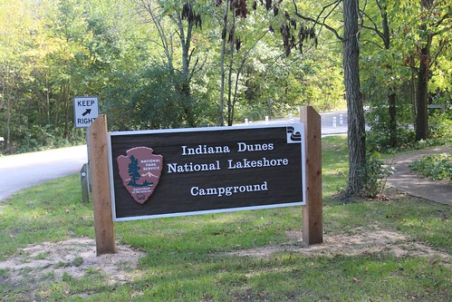 Day 56: Finding a campground at Indiana Dunes.