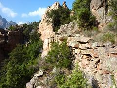 Chemin de la Montagne aux Plages : le sentier après le col de la pointe 571