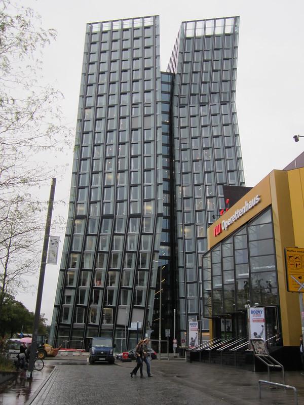 Tanzende Türme, St. Pauli, Hamburg.