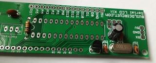 Serial LCD Arduino