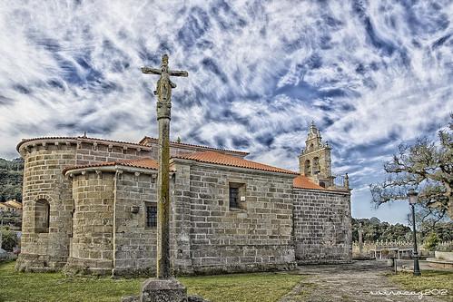 328/365 Iglesia Románica de Coruxo, siglo XII by sairacaz