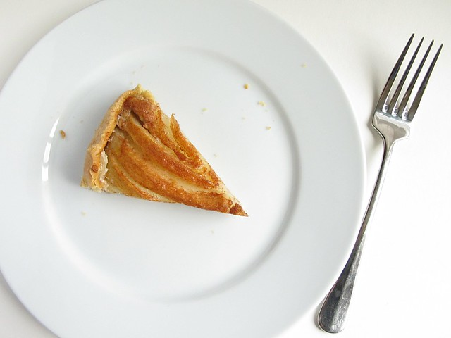 pear almond galette