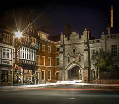 Beverley North Bar at night