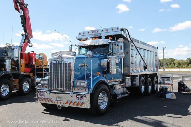 Tri Axle Show Trucks : Kenworth w l tri axle flickr photo sharing