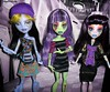 Old CaM Girls Group Pic Seamonster,  Lab Girl &