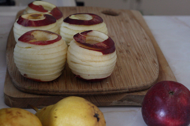 Spiraled Apples